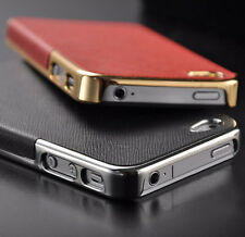 NEW Luxury Chrome Hard Back Case Cover For Apple iPhone 5S 5 iPhone 4S 4 / SE