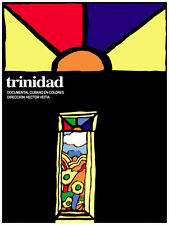 971 Trinidad Film. Wall Art Decoration POSTER.Graphics to decorate home office.