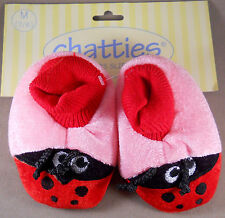 Chatties Toddlers Slippers Girls House Shoes New With Tags Size : M, L, XL
