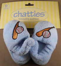 Chatties Toddlers Slippers Boys House Shoes New With Tags Size : S, M, L, XL