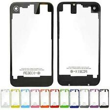 Colorful New Transparent Rear Glass Back battery Cover Housing For iPhone 4S Hot