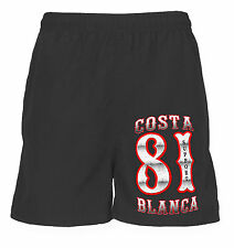01 Hells Angels Support 81 Jogging Sport Shorts Biker black bermuda