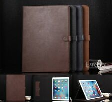 Luxury Folio Stand Leather Wallet Flip Card Slot Smart Case Cover For Apple iPad