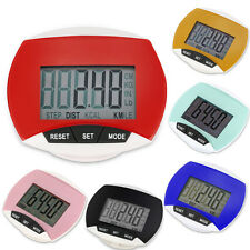 NEW Digital Step Pedometer Walking LCD Calorie Counter Distance Run Monitor Clip