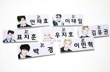 BlockB Block B Photo Name Tag Badge KPOP JaeHyo U Kown B Bomb P.O TaeIl Zico Par