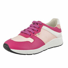 Gucci Girl's Satin Leather Sneakers Shoes Gucci Sz 30 31