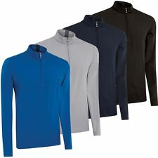 65%OFF Ashworth 2015 Performance Wind 1/2 Zip Thermal Sweater Mens Golf Pullover