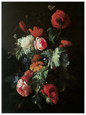 1175.Red Roses wall Art Decoration POSTER.Graphics to decorate home office..
