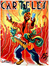 326. Art Decor POSTER.Graphics to decorate home office.Carteles Carnival Cover.