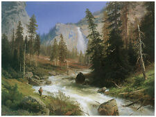 1328 Forest Paint wall Art Decoration POSTER.Graphics to decorate home office.