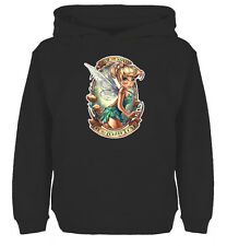 Disney Princesses Tinkerbell Tattoos Sweatshirt Boys Girls Hoodie