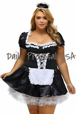Sexy Erotic Adult Late Night French Maid Dress Costume Halloween Cosplay USA