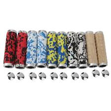 5 Color Pair Mountain Bike MTB BMX Bicycle Cycling Lock Handlebar Grips End Cap