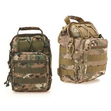 Hiking Camping Bag Army Military Tactical Rucksack Travel Shoulder Backpack Camo