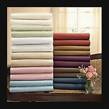 New 1000TC Thinner ITALIAN Bedding pieces 100%ORGANIC EGYPTIAN COTTON Solid
