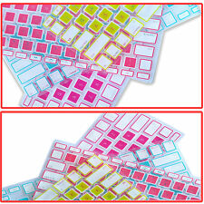 """Stylish Keyboard Case Cover Protector for Apple MacBook Air Pro 13.3"""" 15.4"""" 17"""""""