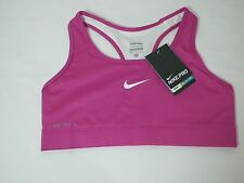 NIKE PRO WOMENS DRI-FIT SPORTS TRAINING TOPS BRA SZ XS PURPLE  # 411411-NWT