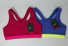 NIKE PRO WOMENS DRI-FIT CLASSIC SPORTS TRAINING TOPS BRA #717425-NWT