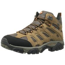 Merrell Mens Shoes Moab Mid Waterproof Earth