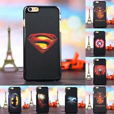 Hot Hard Back Hero Slim Phone Skin Case Cover For Apple iPhone 4s 5s 6 Plus 009