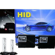 High Quality 1 Pair 75W AC HID Headlight Conversion Kit KIT H1 H3 H4 H7 5K 6K 8K