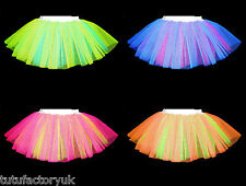 2 COLOUR NEON TUTU MADE TO ORDER - ANY 2 COLOURS - DESIGN YOUR OWN TUTU! HEN