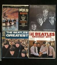 The Beatles SET OF FOUR Records Five Nights-The Greatest Hits- Greatest-Somethin