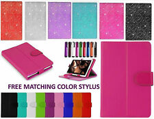 7 Inch Universal Folio Leather Case Cover For Samsung Galaxy Tab 2/3/4 Hudl 7""