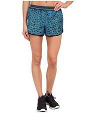 "UNDER ARMOUR WOMEN'S HEATGEAR PERFECT PACE 3"" RUNNING SHORTS BLUE#1254029-NWT"