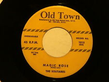 THE SOLITAIRES Magic Rose OLD TOWN hear soundclip!! DOO WOP