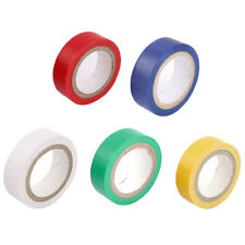 33Ft Long 15mm Wide PVC Self-adhesive Electrical Insulation Tape 10 Rolls