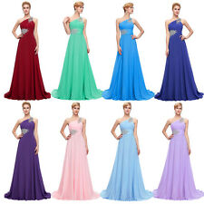 Vintage 50s Evening Prom Party Masquerade Long Formal Maxi Gown Bridesmaid Dress