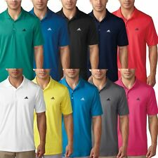Adidas Golf 2016 Performance Logo Chest Polo Lightweight Mens Golf Polo Shirt