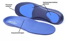 Orthopedic Shoe Soles Arch Back Heel Metatarsal Foot Insole Cushion Full Support