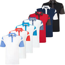 Callaway 2016 Opri-Dri Athletic Chev Blocked Mens Golf Polo Shirt