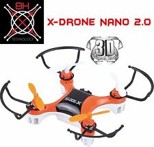 BH TECH X-DRONE Nano Quadcopter 6-Axis Gyro  2.4 Ghz 4 Channel RC Drone