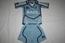 Canterbury Cardiff Blues Home Pro Kids Infant Rugby Shirt & Shorts Set, 0-4