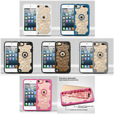 Transparent Clear Tactical Polygon Designs Cover Case Apple iPod Touch 5 6 Gen