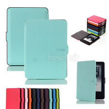 Slim Magnetic Leather Smart Case Cover For Amazon Kindle 6 inch ( 7th Gen 2014 )
