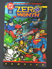 ZERO HOUR  Promo Book - 1994 NM DC Comics Rare Promotional Issue