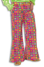 60s 1970s Years Trousers Flares Hippie Pants Men's