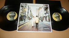OASIS '(WHAT'S THE STORY)MORNING GLORY' CRE LP 189 CREATION MPO 1995UK 2 DISC LP