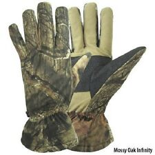 Mossy Oak Realtree AP or NEXT G1 Vista Camo Insulated Hunting Gloves - Size L