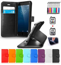 Smart FliP LEATHER Mobile Phone WALLET Stand Case COVER FOR Apple iPhone 4/4S