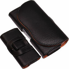 Universal PU-Leather Pouch Belt Clip+Loop Hip Case for Apple iPhone 6/4/4s/3/5s