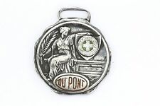 Antique Bastion Bros Sterling Silver & Enamel DuPont Art Deco Medal