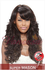 SUPER MASON BY VANESSA WIG FIFTH AVENUE SYNTHETIC HAIR, LONG WAVY STYLE WIG