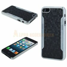 Snake Pattern Stylish Chrome Plated Back Case Cover Skin For New iPhone 5, 5G