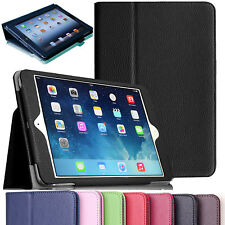 Premium PU Leather Magnetic Smart Stand Cove Case For Apple iPad Air 2 / iPad 6