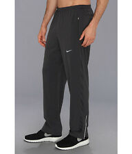 NIKE DRI-FIT MENS STRETCH ATHLETIC RUNNING WOVEN PANTS GRAY # 596164- NWT